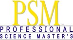 Professional Science Master's logo