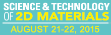 Science and Technology of 2D Materialsorkshop Aug. 17-18
